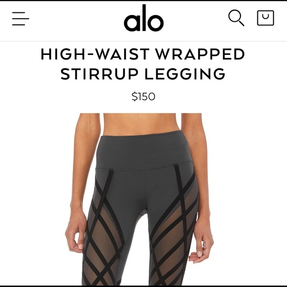 57b773c419836 ALO Yoga Pants | New Alo Highwaist Wrapped Stirrup Legging | Poshmark